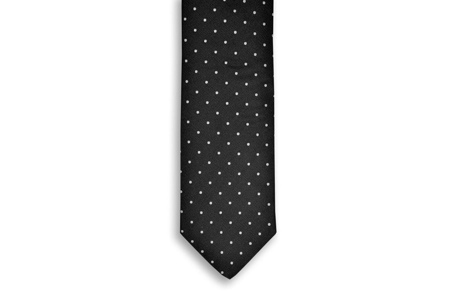Black Dot Necktie