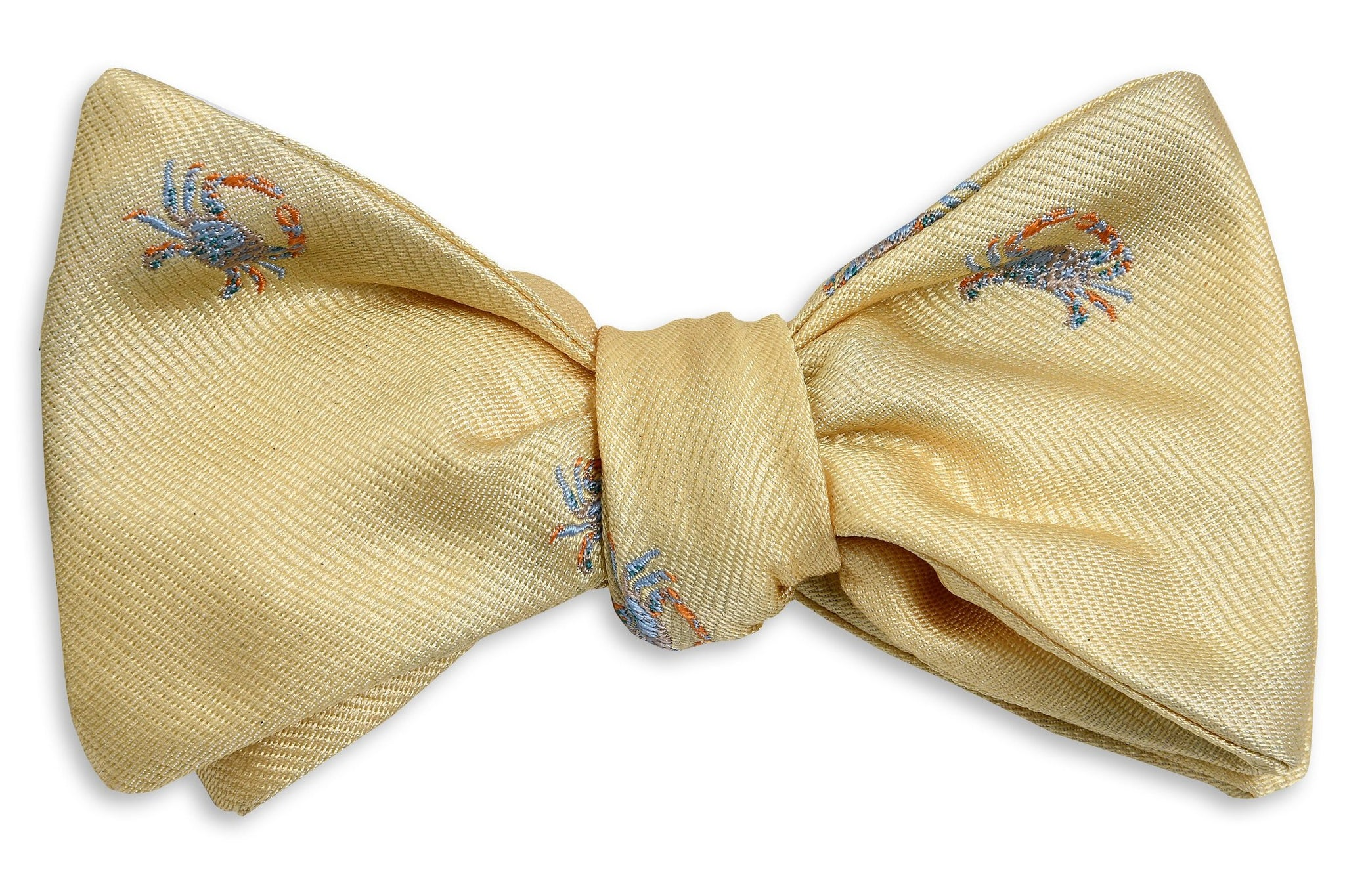 ec5d867e4f31 Blue Crab Bow Tie - Yellow