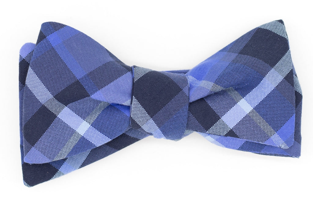 Light It Blue Bow Tie