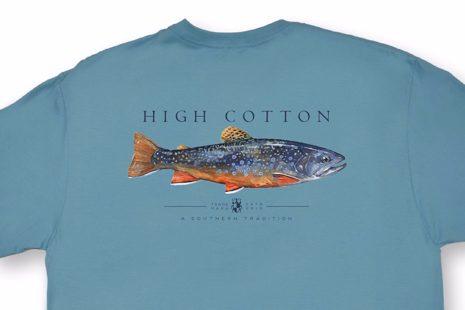 6c46c10a Brook Trout Pocket Tee - Blue Ridge