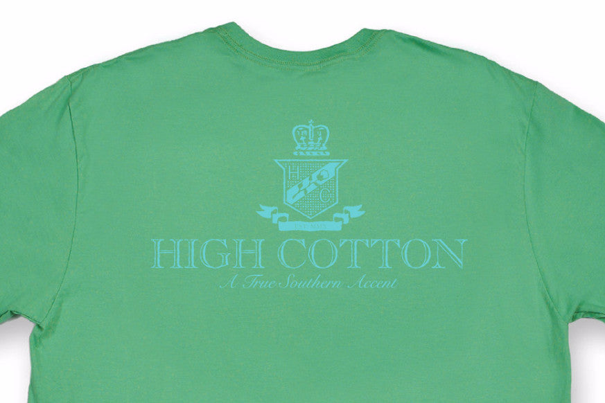 9391f4b9 Cotton Crest Pocket Tee - Green