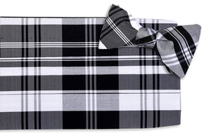 Fitzgerald Plaid Cummerbund Set