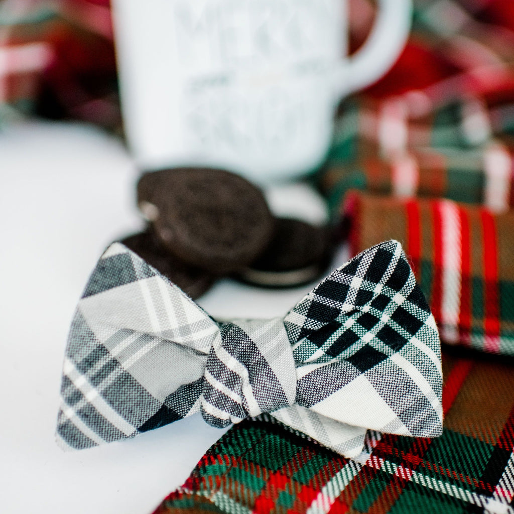 Milk and Cookies Bow Tie