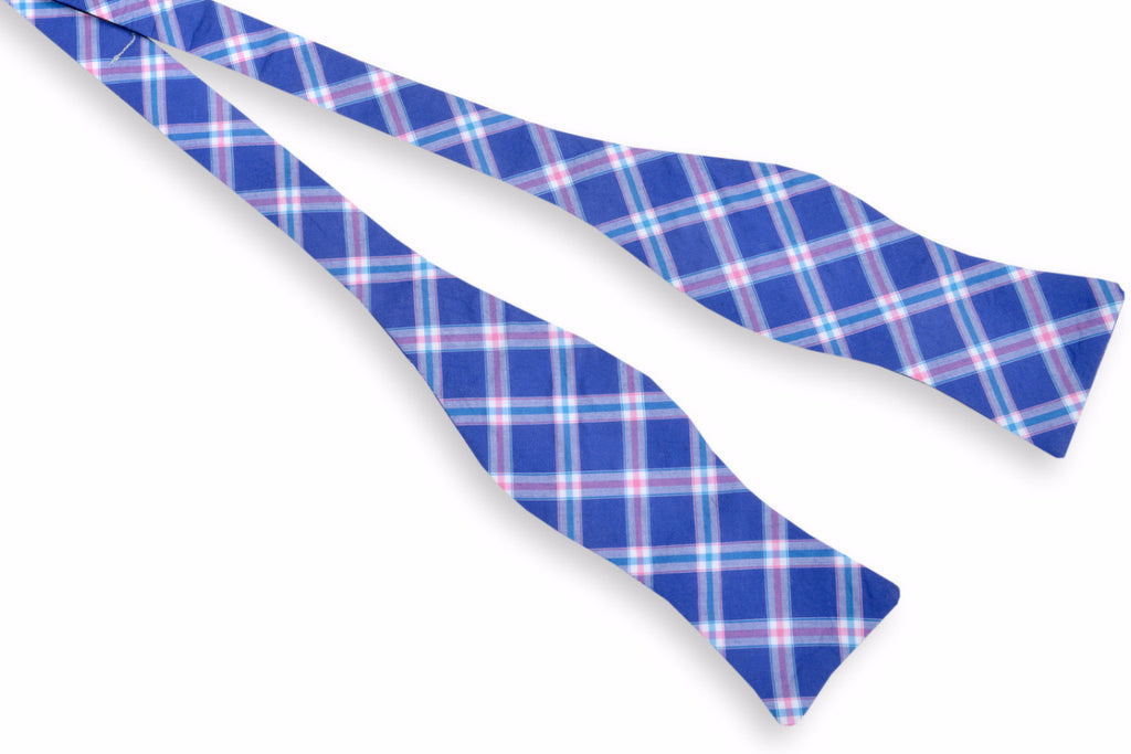 Gibbes Plaid Bow Tie