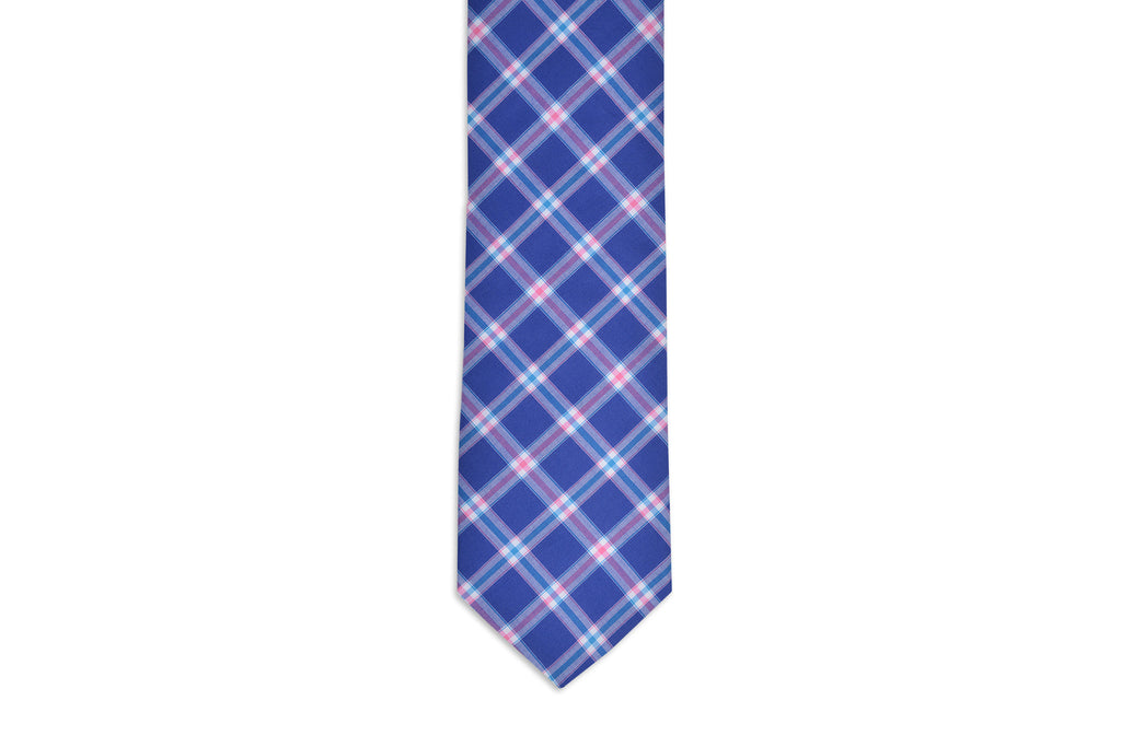 Gibbes Plaid Necktie