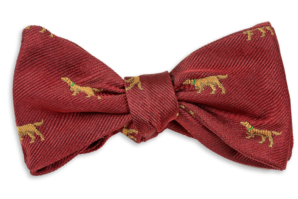 Good Boy Bow Tie - Burgundy