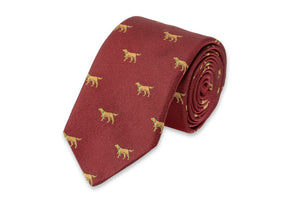 Good Boy Necktie - Burgundy