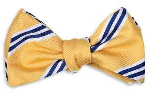 Hayfield Stripe Bow Tie