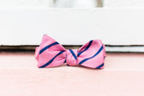 Seaside Stripe Bow Tie - Pink