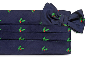 Deck the Halls Cummerbund Set
