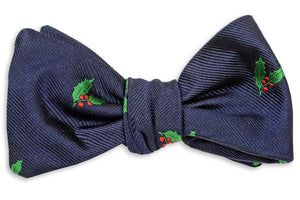 Deck the Halls Bow Tie