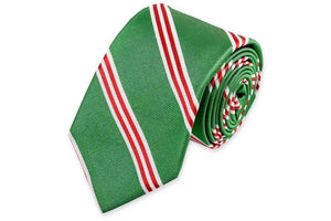Holly Stripe Necktie
