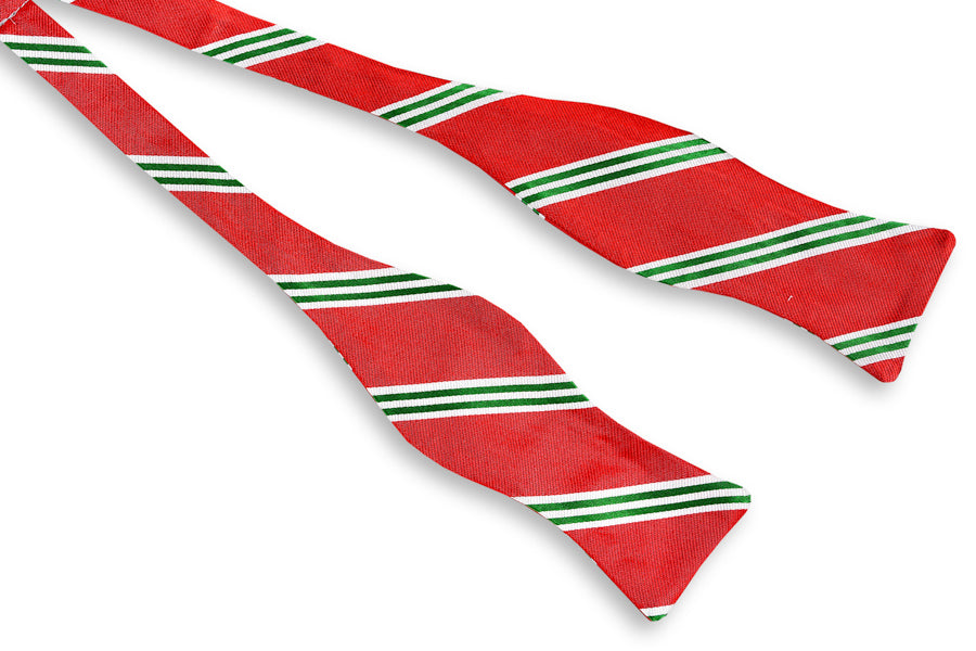 Jolly Stripe Bow Tie