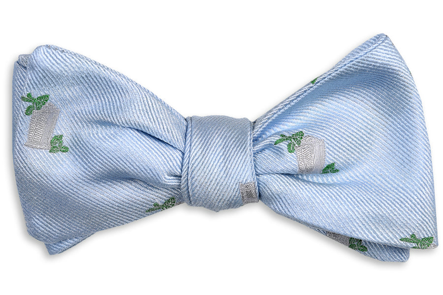 Julep Cup Bow Tie - Blue