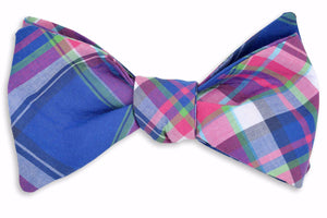 Moonlight Madras Bow Tie