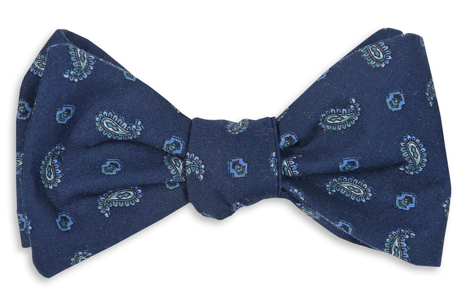Dominion Paisley Bow Tie