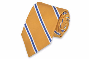 Noble Stripe Necktie - Gold