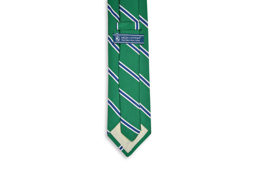 Noble Stripe Necktie - Green