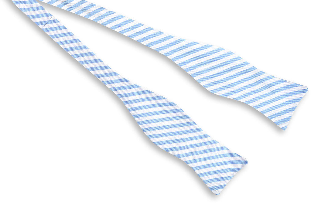 Oyster Roast Stripe Bow Tie - Carolina