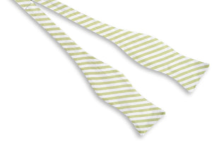 Oyster Roast Stripe Bow Tie - Marsh