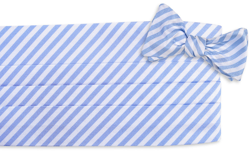 Oyster Roast Stripe Cummerbund Set - Carolina