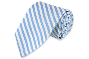 Oyster Roast Stripe Necktie - Carolina