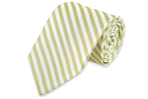 Oyster Roast Stripe Necktie - Marsh