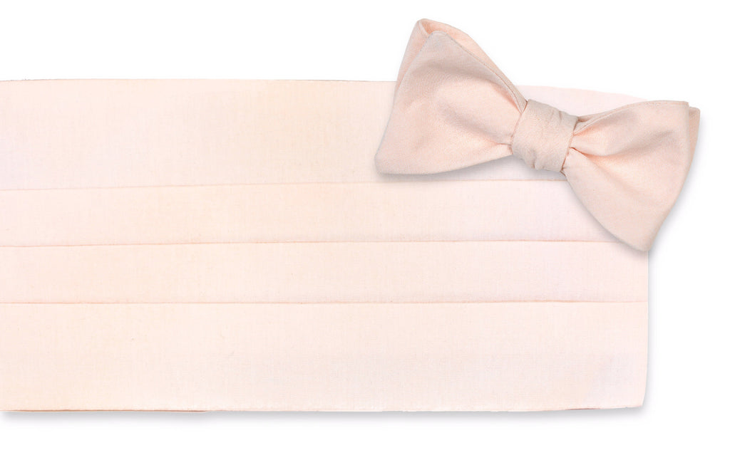 Sweet as a Peach Cummerbund Set