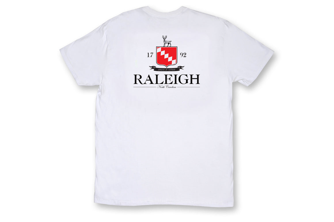 Raleigh Pocket Tee - White