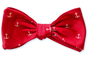 Red Sky at Night Sailor's Delight Bow Tie