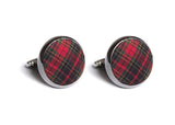 Mountain Resort Plaid Cufflinks
