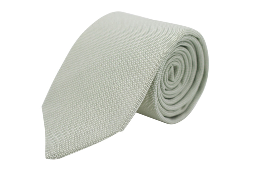 Sage Royal Oxford Necktie