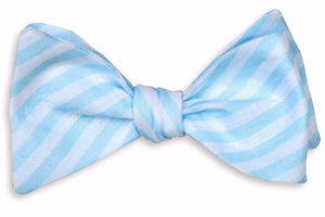 Something Blue Bow Tie