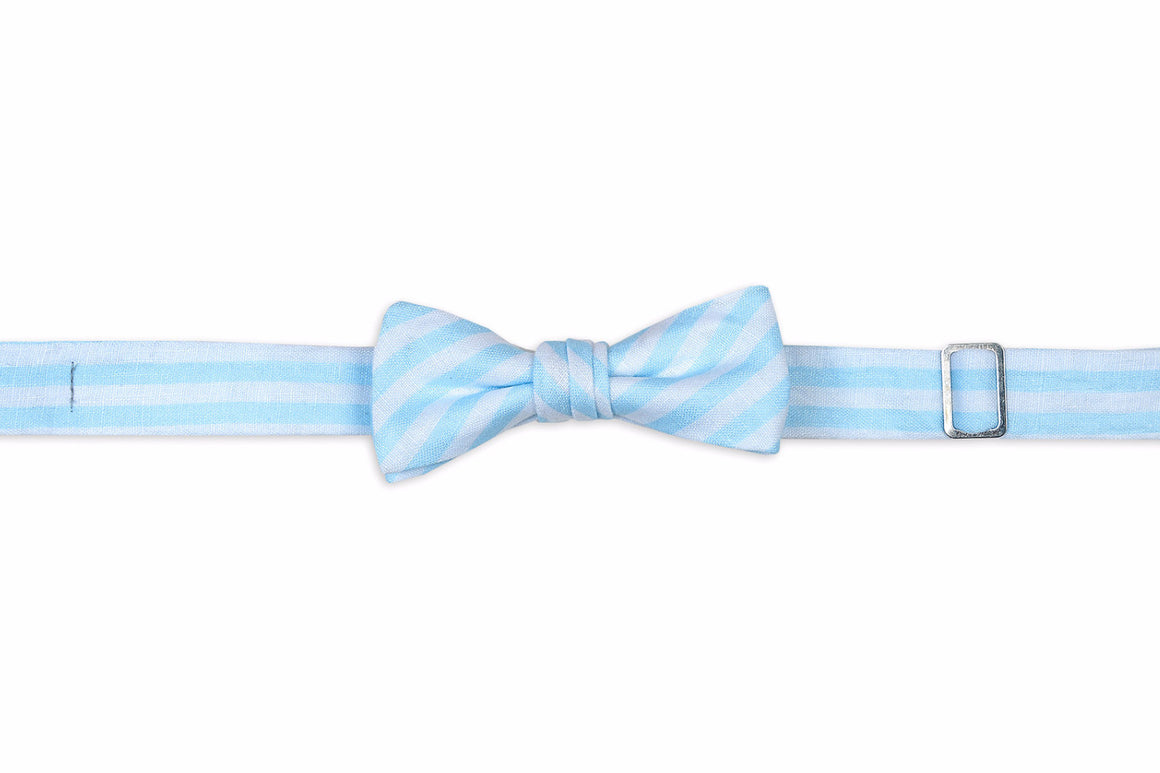 Something Blue Boy's Bow Tie