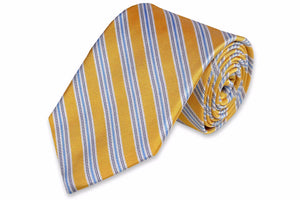 Spinnaker Stripe Necktie - Sunshine