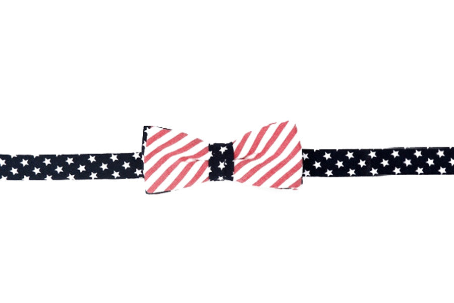 Stars and Stripes Boy's Bow