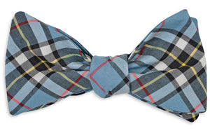 Smoky Mountain Plaid Bow Tie