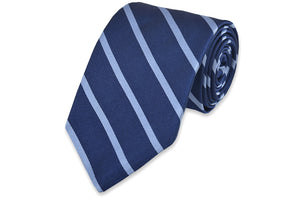 Sunday Brunch Stripe Necktie - Light Blue