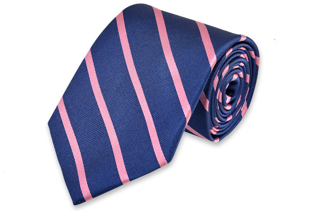Sunday Brunch Stripe Necktie - Pink