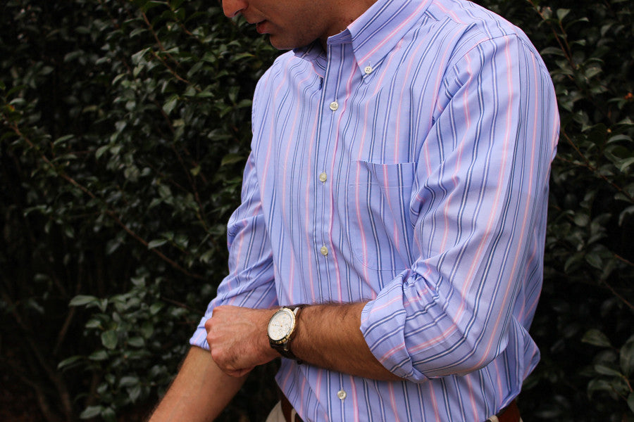 Sunday Brunch Sport Shirt - Pink