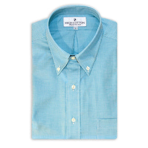 Cotton Exchange Sport Shirt - Wilmington Teal
