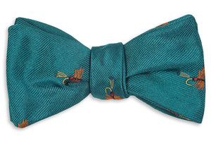 Trout Fly Bow Tie - Cascade