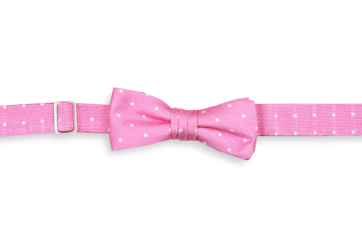 True Pink Dot Boy's Bow Tie