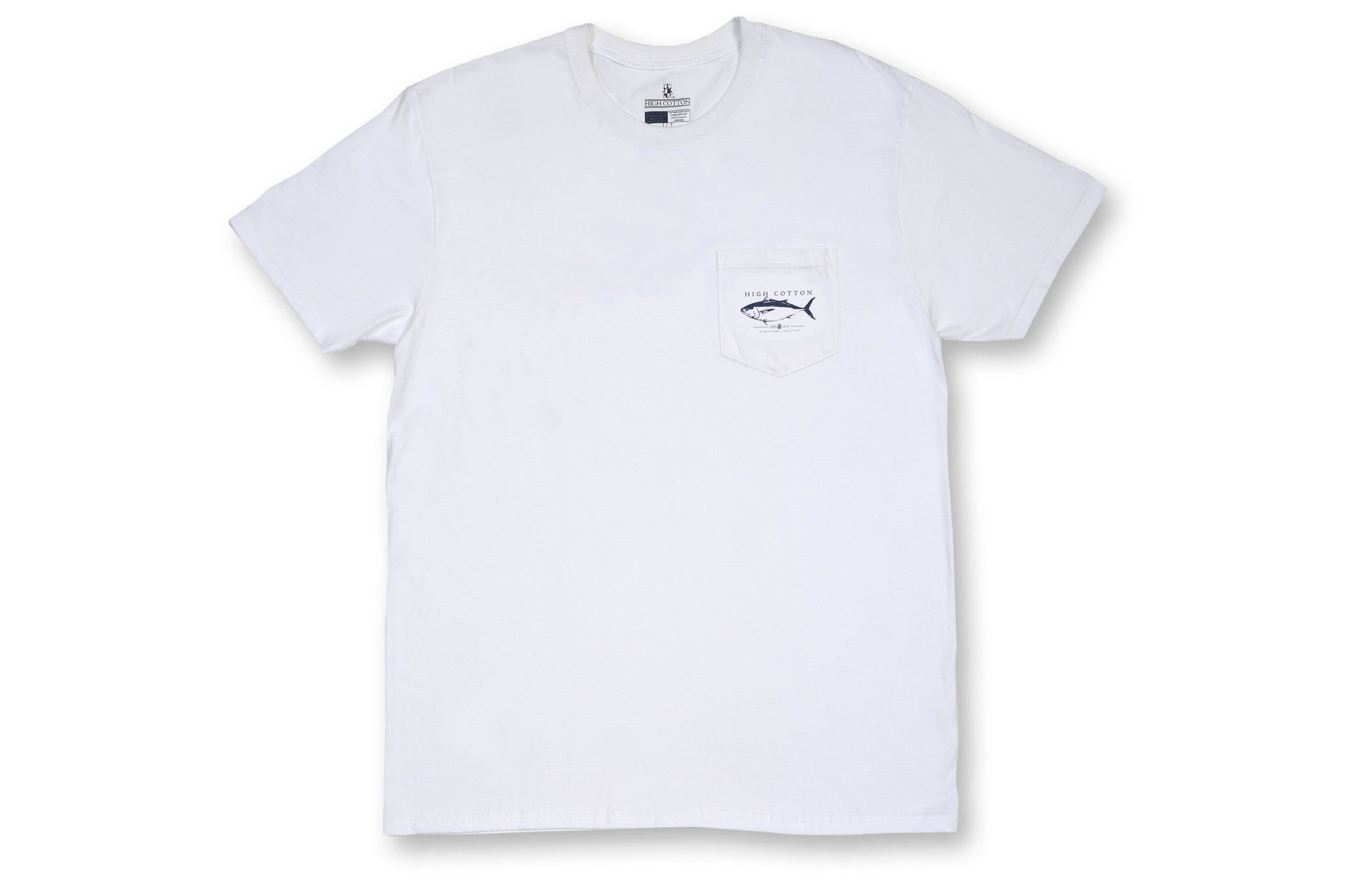 764307e0 Tuna Pocket Tee - Classic White - High Cotton