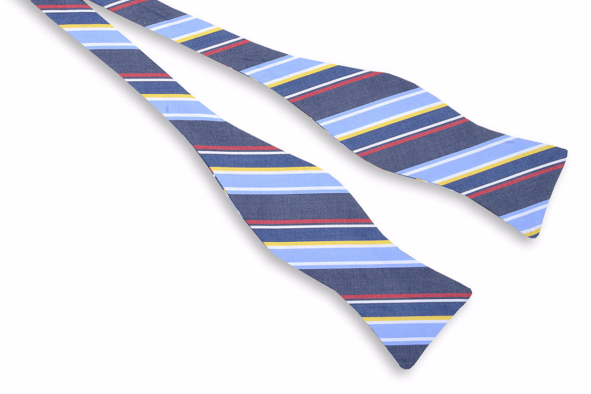 Yachting Stripe Bow Tie