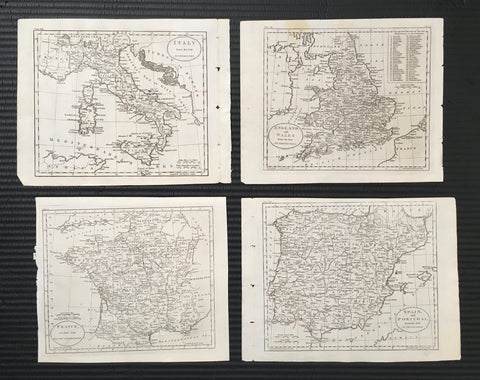 Maps, mapmaking, map love, map of France, map of England, map of Spain, map of Portugal, map set, print set, gallery wall, interior decor, interior design, inspiration, ideas, old world, design, artwork, for sale, traditional, classic, engravings, 1800s, original