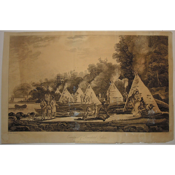 Encampment of the Domiciliated Indians.  (B2-16)