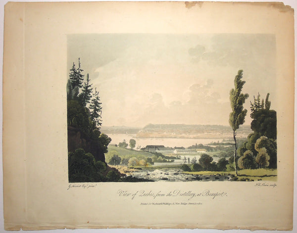 View of Quebec, from the Distillery, at Beauport.  (B2-23a)