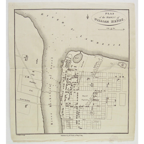 Plan of the Town of William Henry.  (S3-28c)