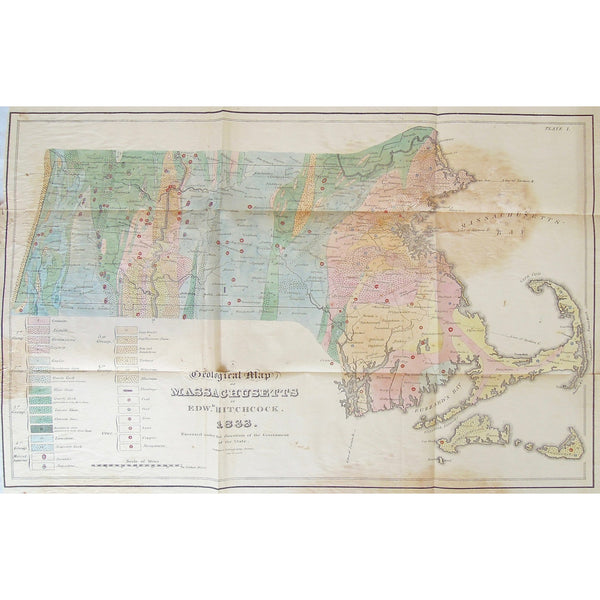 Map, Massachusetts, Geological Map, Geological, Cape Cod, Provincetown, Truro, Wellfleet, Eastham, Orleans, Brewster, Chatham, Harwich, Egg Island, Nantucket, Martha's Vineyard, Gay Head, Tisburry, Edgartown, Elizabeth Islands, Marshpee, Mashpee, Falmouth, Sandwich, Barnstable, Yarmouth, Dennis, Plymouth, Wareham, Carver, Rochester, Fair Haven, New Bedford, Dartmouth, Middlebury, Plympton, Kingston, Halifax, Duxbury, Troy, Middleborough, Bridgewater, West Bridgewater, Taunton River, Pembroke, Marshfield, Ha